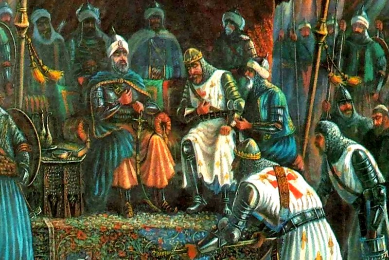 saladin and richard Biography of saladin, the kurdish sultan of egypt and syria, who defended the holy land from european crusaders including richard the lionheart.
